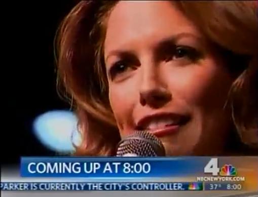 "Hilary Kole on New 4 New York sings ""The Christmas Song"""