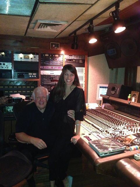With my co-producer Jim at NOLA  Recording Studio NY