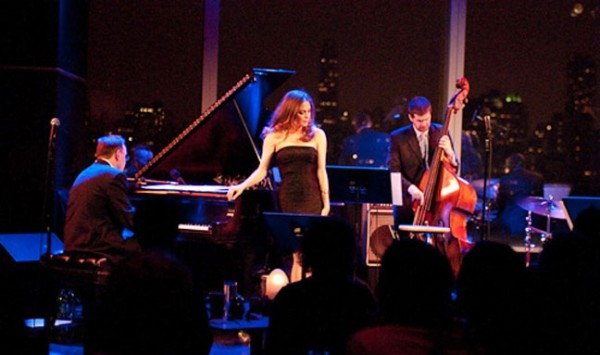 Hilary & the band at Dizzy's