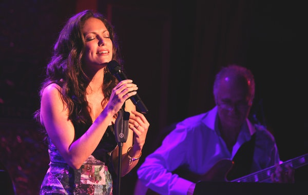 Hilary Kole Sings at  54 Below  Aug 2012 Photo Michelle V. Agins/The New York Times
