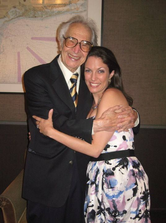 With my dear friend, the late, Dave Brubeck
