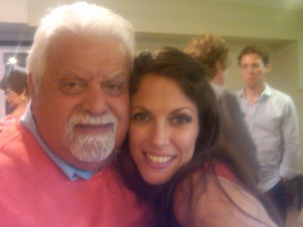 With my good friend and terrific singer John Demarco