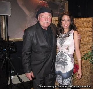 Look who I met on my way into a PROFILES TV SHOW interview with Mickey Burns? I'm such a huge fan of Stacy Keach! ( my interview airs Jan 24th 2014.. Look for a link on my video page)