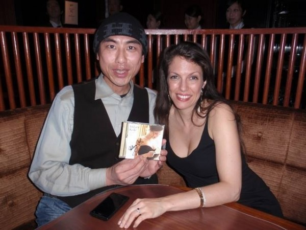 At the Cotton Club Tokyo With Meguru Takagi , who I first met when I appeared at the BLUE NOTE TOKYO in june 2012