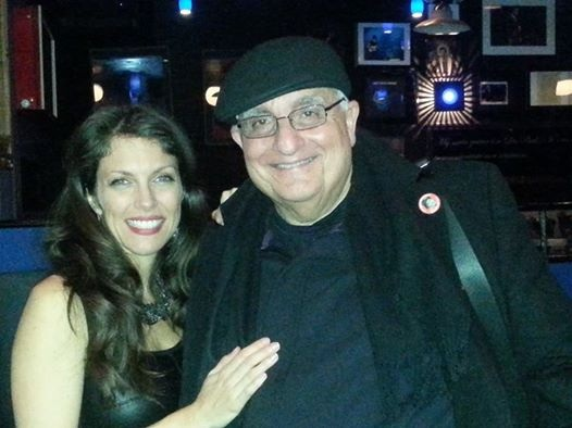 With my Web guy Avi Duvdevani at Iridium Jazz Club Feb 10 2014
