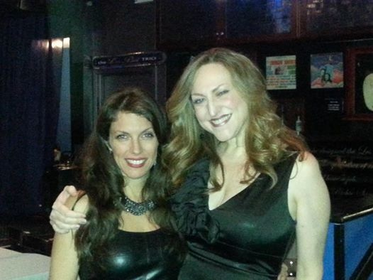 With my friend vocalist Ellen Bullinger at Iridium Feb 10