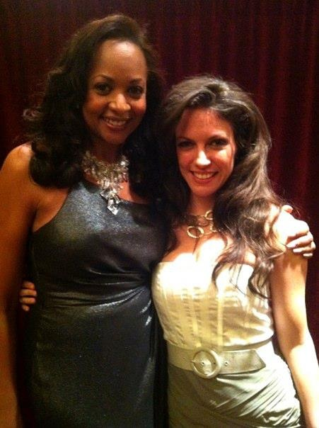 With my good friend, the beautiful and amazing vocalist La Tanya Hall after her gig at Feinstein's at the Regency Feb 2012