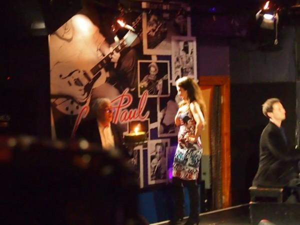 Thank you Scott Barbarino of ScoBar Entertainment ( and Avi too) for the surprise Birthday Cake at Iridium Jazz Club 4/30/2014