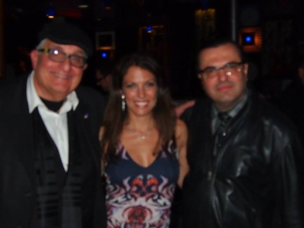 With Avi, my web guy and Fan Gabriel at Iridium Jazz Club 4/30/2014