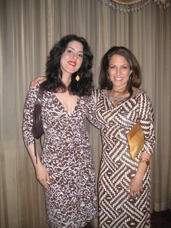 With my friend, contemporary jazz vocalist and recording artist, Pamela Luss, backstage at Feinstein's At The Regency NY back in 2008