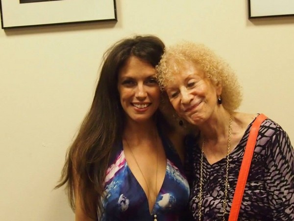 After my set with friend and New York Sheet Music Society member, vocalist, Edie Stokes June 14 2014