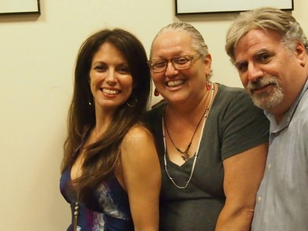 With my friends Giglia Maruvelli & performer, Glen Charlow (glencharlow.com), after my performance at the NY Sheet Music Society June 14 2014