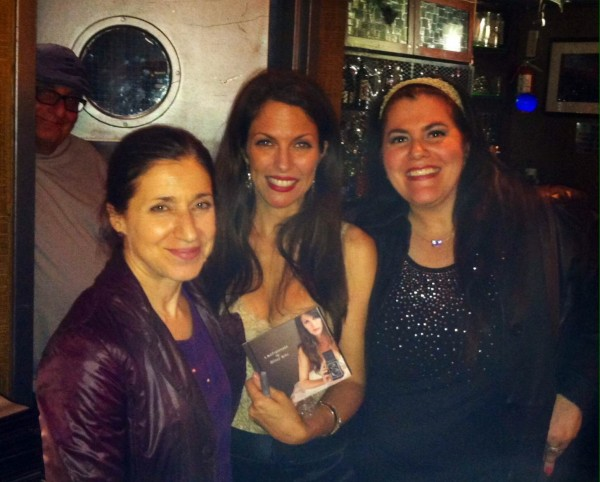 After the late set at http://hilarykole.com/event/hilary-kole-returns-once-again-to-iridium-nyc/ with fans and new friends,Theresa & Linda. oct 9, 2014
