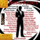 James Bond Redux poster image 54Below feb 2013