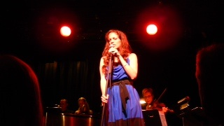 """Hilary Kole Performing Larry Kerchner's """"The Gypsy"""" at a benefit for the Michael Feinstein American Songbook Initiative 11/3/13"""