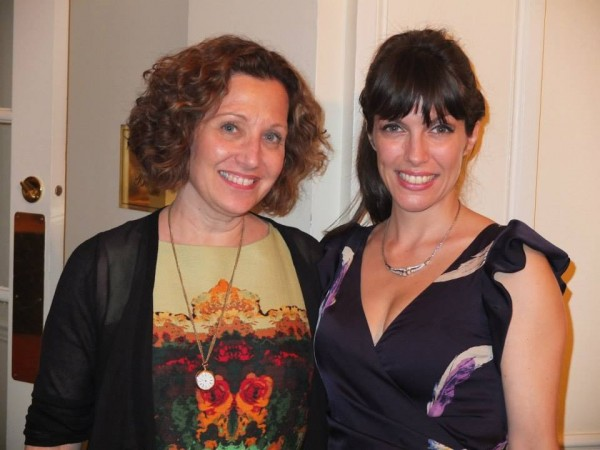 With The Cooperstown Summer Music Festival, artistic director (and guest flutist at my gig there) Linda Chesis--Aug 2013