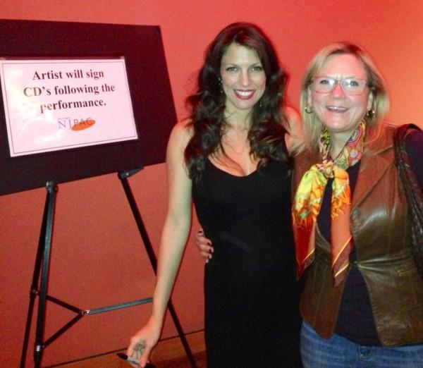 Feb 8 2014--NJPAC With Sara Lee Koch At meet & greet after MY JAZZY VALENTINE: Jazz & The American Songbook https://hilarykole.com/event/my-jazzy-valentine-jazz-and-the-american-songbook