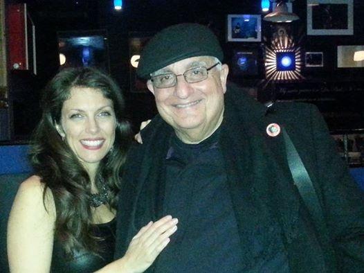 With my Web guy Avi Duvdevani at Iridium Jazz Club Feb 10 2014