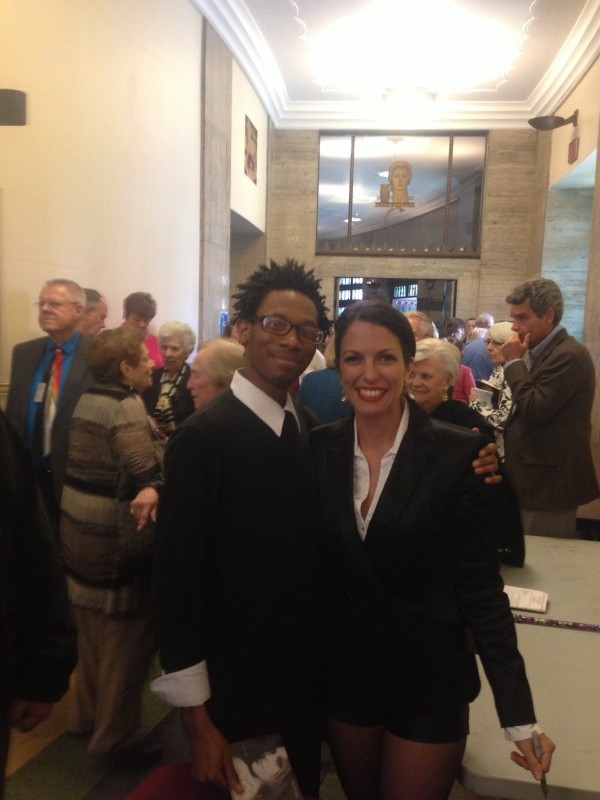 With James Long, who was so helpful, at Harrisburg Symphony Judy Garland Tribute Apr 2014