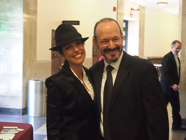With my good friend and Harrisburg Symphony Maestro, Stuart Malina , at the Judy Garland Tribute Apr 2014