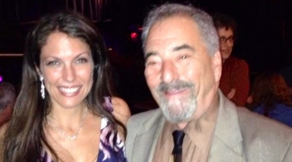 With my friend WKRB Radio Personality & Cabaret Scenes reviewers at Iridium Jazz Club 4/30/2014