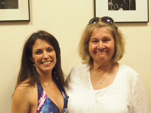 After my set at New York Sheet Music Society with my new friend and fan, Paulette Katz June 14 2014