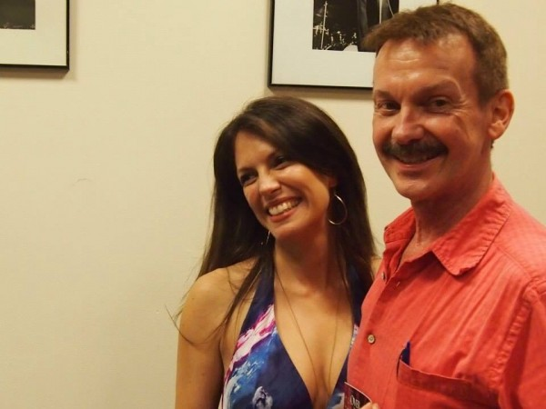 After my set at New York Sheet Music Society with my new friend and fan, Mike Broad-- June 14 2014