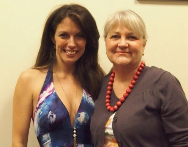 With Debbi Bush Whiting, daughter of acclaimed big band, jazz, popular music — even country — vocalist, Margaret Whiting and granddaughter of renown composer Richard A. Whiting, after my performance for the New York Sheet Music Society on June 14 2014