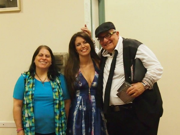 With my friends Debra Miller and Avi Duvdevani, my Social Media Strategist & Content Prep Slave, after my performance for the New York Sheet Music Society on June 14 2014