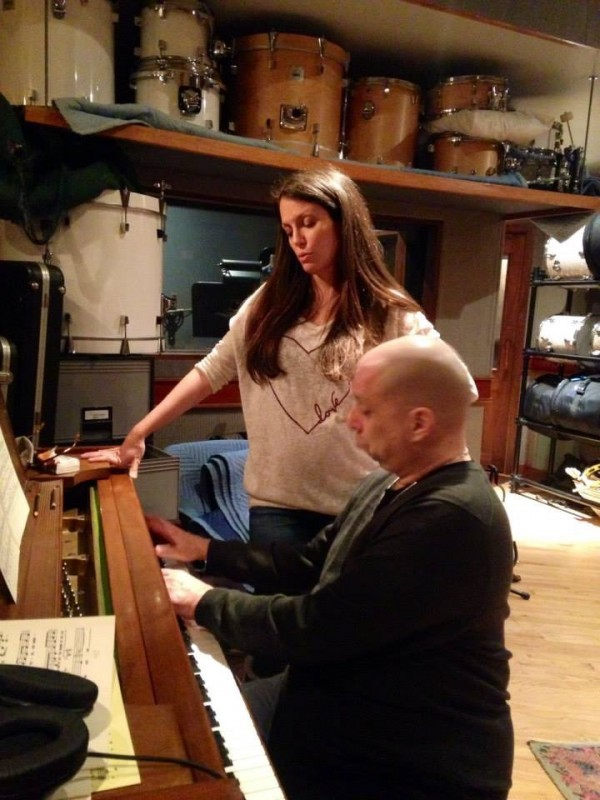 Recording sessions Judy Garland project with Pianist John DiMartino