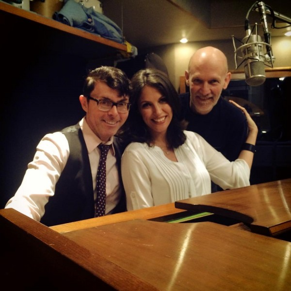 Final day of Judy Garland Recording project & video shoot with Richard Barone, Producer & Bill Westmoreland, Videographer
